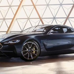 BMW 8 Series Luxury Sports Coupe Concept Shoot leaked