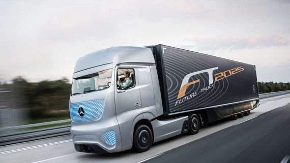 self-driving trucks