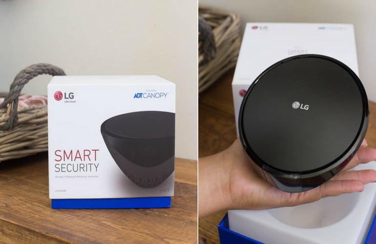 LG Smart Security Wireless Camera